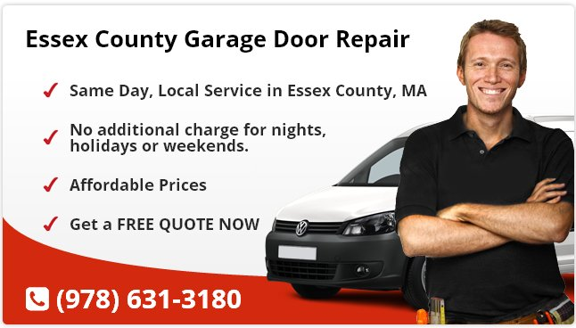 Essex County Garage Door Repair